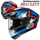 ショウエイ X-FOURTEEN BRADLEY3(ブラッドリー3) X-14 レプリカ フルフェイスヘルメット 【TC-1(RED/BLACK) XSサイズ】