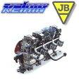 ケイヒン FCRキャブレター [ スズキ GSX750S(I/II型) : H/Z ブラックアルマイト 37φ ] 304A37-344 BITO R&D JB-POWER