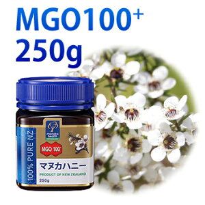 マヌカハニー MGO100+ 250g
