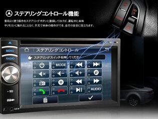NEW��6.2��������å��ѥͥ�ǥ����ץ쥤AVI/DVD/VCD/MP3/CD�б�DVD�ץ졼�䡼FM/AM���塼�ʡ���¢USB/SD�����ɥ���å����Bluetooth��ǽ�б�BluetoothiPodiPhone5EONON(D2115J)�ڰ�ǯ�ݾڡۡ�RCP��