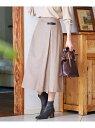 ヴィステルビエラチェック スカート J.PRESS ジェイプレス スカート ロングスカート ベージュ ネイビー【送料無料】[Rakuten Fashion]