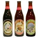 ビール酵母が生きている新製法。これぞ健康地ビール!山香綺ら羅 油屋熊八麦酒3本セット(3種類各1本・500ml瓶)【Z-50】