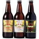 九州 ギフト 2020 ゆふいんビール3本セット(3種類各1本・500ml瓶)【まぼろしの九州の地ビール】【大分土産】J53F01【冷蔵】