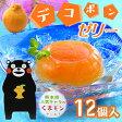 JAあしきた デコポンゼリー(12個入)【熊本名物デコポン使用】くまモンI79T03