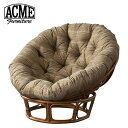 ACME Furniture アクメファニチャー WICKER EASY CHAIR_BW ウィッカー イージーチェア BW チェア 椅子【送料無料】【ポイント10倍】