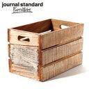 journal standard Furniture ジャーナルスタンダードファニチャー DREUX BOX L WHITE ドリューボックス 木箱