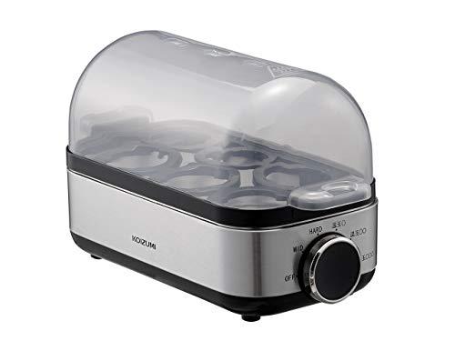 コイズミ エッグスチーマー ゆでたまご器 温泉たまご器 シルバー KES-0400/S