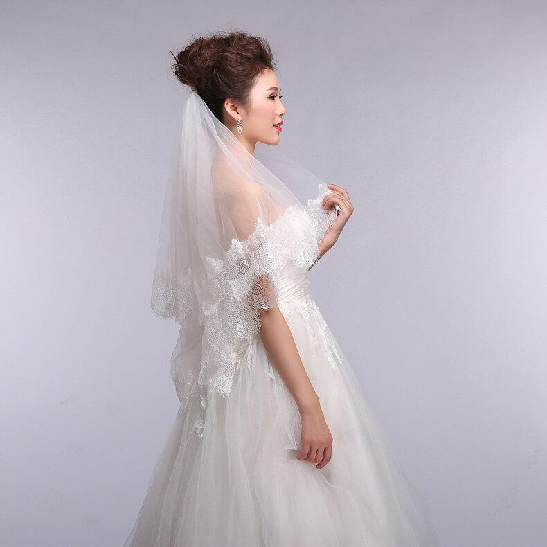【今だけ値下】レースベール・ウェディングドレス...の紹介画像3