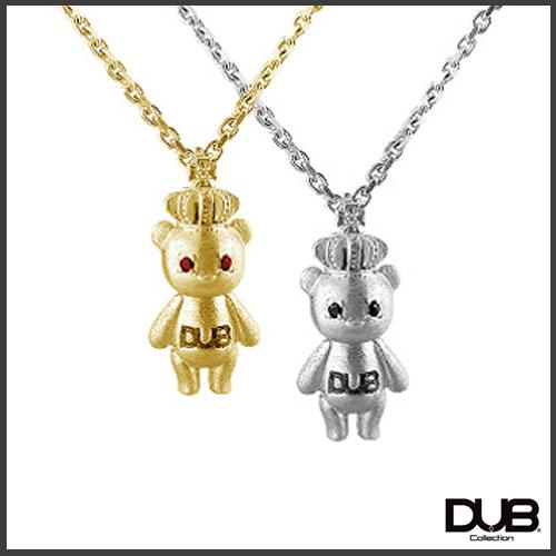 【DUB collection ダブコレクション】ナオピー 天野眞隆 model Crown Bear Necklace DUB-c023【送料無料】【_包装選択】 【コンビニ受取対応商品】【送料無料】ラッピング無料!触れます
