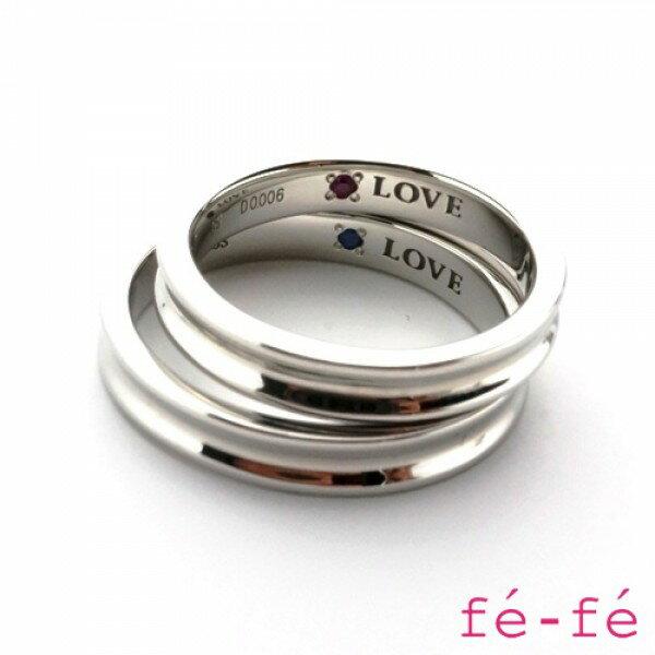 【fe-fe フェフェ】ステンレス ペアリング...の紹介画像2