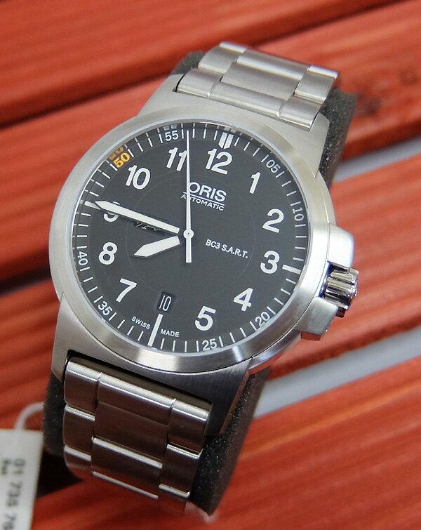 腕時計 メンズウォッチ ORIS オリスBC3リミテッドエディション 自動巻き 国内正規3年保証 735.7641.4184M オリス ORIS 正規品 新品 送料無料 対応 限定モデル1000本限定