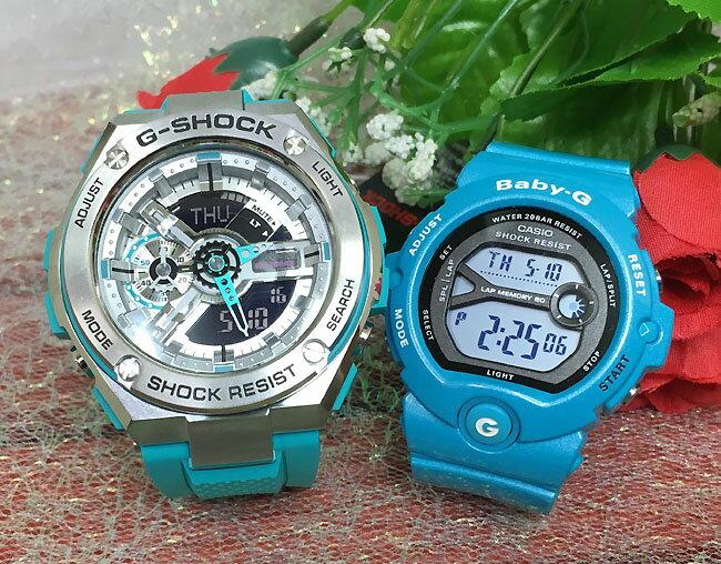 恋人たちのGショック ペアウオッチ G-SHOCK BABY-G ペア腕時計 カシオ 2本セット gショック ベビーg デジタル GST-410-2AJF BG-6903-2JF人気 ラッピング無料g-shock ペアウオッチ