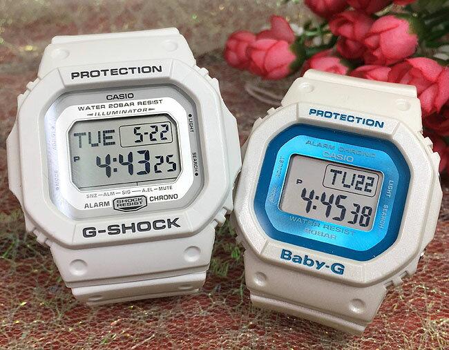 恋人たちのGショック ペアウオッチ G-SHOCK BABY-G ペア腕時計 カシオ 2本セット gショック ベビーg DW-D5600P-7JF BGD-501FS-7JF デジタル 人気 ラッピング無料g-shock ペアウオッチ ホワイトデー