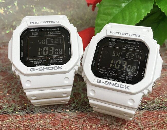 恋人たちのGショック ペアウオッチ G-SHOCK ペア腕時計 GSHOCK Gショック ジーショック カシオ GW-M5610MD-7JF デジタル 電波 ソーラー プレゼント ギフト ラッピング無料 メッセージカード手書きのメッセージカードお付けいたします