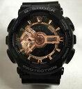 カシオ CASIO 腕時計 G-SHOCK ジーショック BLACK&ROSE GOLD GA-110MMC-1AJF メンズプレゼント 腕時計ブラック&ゴールド ギフト 人気 ラッピング無料 愛の証 感謝の気持ち g-shock メッセージカード手書きします あす楽対応