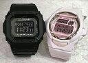 恋人たちのGショック ペアウオッチ G-SHOCK BABY-G ペア腕時計 カシオ 2本セット gショック ベビーg DW-D5600P-1JF BG-169M-4JF デジタル ギフト 人気 ラッピング無料 g-shock あす楽対応