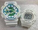 恋人たちのGショック ペアウオッチ G-SHOCK BABY-G ペア腕時計 カシオ 2本セット gショック ベビー GA-110WG-7AJF BLX-570-7JFプレゼント ギフト 人気 ラッピング無料 新品メッセージカード手書きします あす楽対応 クリスマスプレゼント