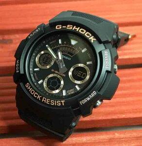 国内正規品 新品 G-SHOCK 腕時計 Gショック ジーショック BLACK & GOLD カシオ AW-591GBX-1A4JFブラック&ゴールド流通限定モデル プレゼント腕時計 ギフト 人気 ラッピング無料 愛の証 感謝の気持ち g-shock