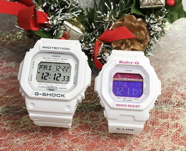 恋人たちのGショック ペアウオッチ G-SHOCK BABY-G ペア腕時計 カシオ 2本セット gショック ベビーg DW-D5600P-7JF BLX-5600-7JF デジタル 人気 ラッピング無料g-shock ペアウオッチ ホワイトデー