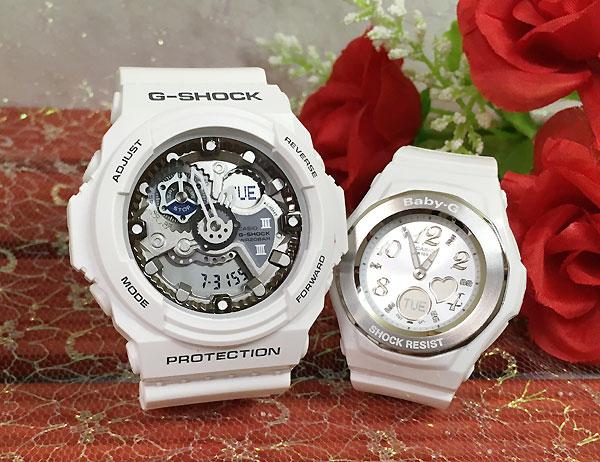 恋人たちのGショック ペアウオッチ G-SHOCK ペア腕時計 カシオ GA-300-7AJF BGA-100-7B3JF プレゼント ギフト ラッピング無料 メッセージカード g-shock
