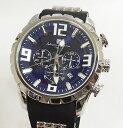 サルバトーレマーラ 腕時計 メンズウォッチ Salvatore Marra SM15107-SSBL ギフト ラッピング無料 手書きのメッセージカードお付けします あす楽対応