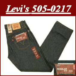 ae04 brand new Levis Levis 505 raw denim jeans US line G pan blue mens denim jeans non wash Levi's