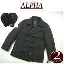 [2012 two colors of 4 size in the fall and winter] ar372 new article ALPHA INDUSTRIES USA plan US Navy Pea Coat melton wool military P coat mjn45032c1 men jacket American casual pea coat alpha industry [smtb-kd]