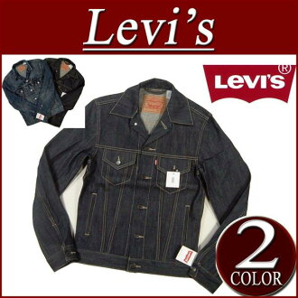 af152 brand new Levis サードタイプ denim jacket men's Levi's THE TRUCKER 70797-0003 RIGID 3RD TIPE DENIM JACKET Tracker G Jean denim casual Levi's