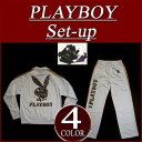 [4 four-colored size] all nu223 new article PLAYBOY panther pattern lam print jersey top and bottom set men setup animal Leo soft-headed doh in one playboy filler PLAY BOY [smtb-kd]