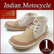 【7サイズ】 fw381 新品 Indian Motocycle CREPE クレープソール ファブリック×レザー ヘンプ地切替 ネイティブ モカシン チャッカブーツ ID-1253 メンズ インディアンモトサイクル スニーカー チャッカーブーツ IndianMotocycle 【smtb-kd】 10P27May16