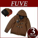 [three colors of 2 special price 2012 model size in the fall and winter] duffel coat men stripe lining jacket American casual shortstop [smtb-kd] with nw922 new article FUVE plain fabric melton wool shortstop length batting