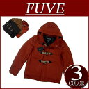 [three colors of 2 special price 2012 model size in the fall and winter] duffel coat men stripe lining jacket American casual shortstop [smtb-kd] with nw923 new article FUVE plain fabric melton wool shortstop length batting