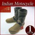 【7サイズ】 fw522 新品 Indian Motocycle アレンジファブリック ネップツイード × スエード ペコスブーツ ID-782 メンズ ロングブーツ ベルトストラップ付 インディアンモトサイクル IndianMotocycle 10P27May16