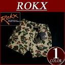 【2016春夏 5サイズ】 rx641 新品 ROKX ロックス CAMOUFLAGE SHORT ダックハンター カモフラージュ ショートパンツ RXMS62...