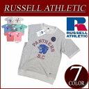 【7色4サイズ】 ny411 新品 Russell Athletic ラグランスリーブ 半袖 プリント スウェットシャツ RC1542B メンズ ラッセル アスレティック NUBLEND 裏毛 アメカジ 10P03Sep16