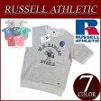 【7色4サイズ】 ny421 新品 Russell Athletic ラグランスリーブ 半袖 プリント スウェットシャツ RC1542A メンズ ラッセル アスレティック NUBLEND 裏毛 アメカジ 10P27May16