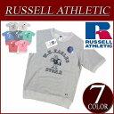 【7色4サイズ】 ny421 新品 Russell Athletic ラグランスリーブ 半袖 プリント スウェットシャツ RC1542A メンズ ラッセル アスレティック NUBLEND 裏毛 アメカジ 10P03Sep16