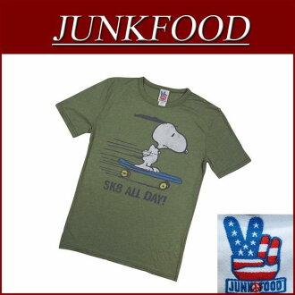 ab292 品牌的新的垃圾食品日本另一個注意美國從史努比 SK8 所有天史努比短袖 T 男式襯衫 PN894 7765 垃圾食品 t 恤衫花生毒癮作在美國 10P03Sep16