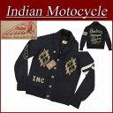 【4サイズ】 ja141 新品 INDIAN MOTOCYCLE ネイティブ柄 ショールカラー ウール混 ニット カーディガン IMKN-502 メンズ ウール チマヨ さがら刺繍 チェーン刺繍 インディアンモトサイクル IndianMotocycle