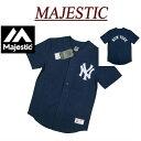 【20%off 3サイズ】 ja541 新品 MAJESTIC ニューヨーク ヤンキース ベースボールシャツ MM21-NYK-0008 メンズ マジェスティック MLB OFFICIAL WEAR NEW YORK YANKEES フェルト地 ワッペン