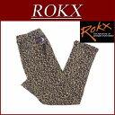 【4サイズ】 ry011 新品 ROKX ロックス NEW PLEECE PANT ヒョウ柄 ニュー フリース スリムパンツ クライミングパンツ RXMF511...