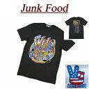 【2017春 US規格 5サイズ】 ab621 新品 JUNK FOOD USA産 THE WHO MAXIMUM R B 1968 ザ フー 半袖 バンド Tシャツ WH079-7730 メンズ ジャンクフード ロック ティーシャツ JunkFood Made in USA 【smtb-kd】