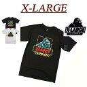 【2色4サイズ】 ac021 新品 X-LARGE ANAMALIA SS TEE OGロゴプリント 半袖 Tシャツ メンズ アメカジ エクストララージ ティーシャツ XLARGE