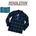 【5サイズ】 ac202 新品 PENDLETON BOARD SHIRT FITTED オンブレチェック 長袖 オープンカラー ウールシャツ AA014-31961 メンズ ペン..