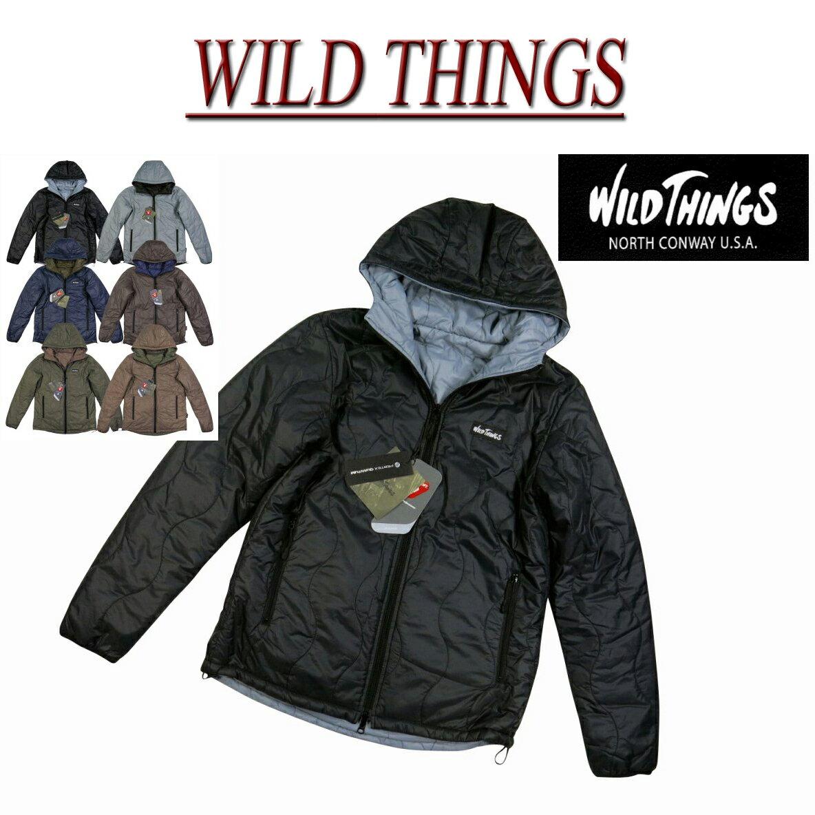 ワイルドシングス リバーシブル プリマロフト フードジャケット