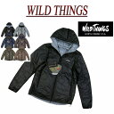 【3色4サイズ】 gm271 新品 WILD THINGS リバーシブル プリマロフト フーデッド ジャケット WT001N メンズ ワイルドシングス REVERSIBLE PRIMALOFT HOODED JACKET ナイロンジャケット
