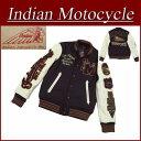 【4サイズ】 jb291 新品 INDIAN MOTOCYCLE ヘッドマーク さがら刺繍 メルトンウール × レザー スタジャン IMJK-603 メンズ アワードジャケット スタジアムジャケット インディアンモトサイクル IndianMotocycle 【smtb-kd】