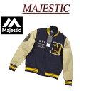 【5サイズ】 jc021 新品 MAJESTIC ニューヨーク ヤンキース さがら刺繍 メルトンウール スタジャン MM23-NYK-0103 メンズ マジェスティック MLB OFFICIAL WEAR NY スタジアムジャケット スタジアムジャンパー 【smtb-kd】