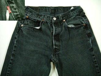 501 lgp358 w31 Levis Levis black denim jeans old clothes from US
