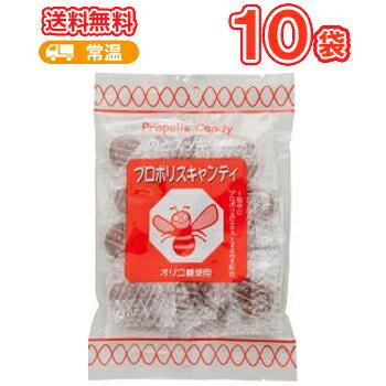 ソーキ プロポリスキャンディ 100g×10袋/送料無料【栄養補助食 プロポリス おやつ あめ 飴 アメ キャンディ のど飴 ニッキ メントール】